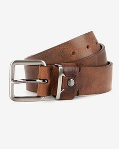 Leather belt - Tan   Belts   Ted Baker UK