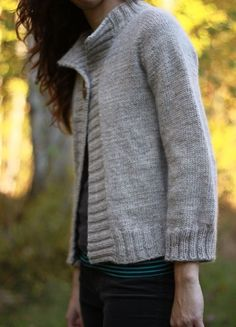 The Brown Stitch | Top-down Knitting Pattern | Concetta Cardigan - $6.00