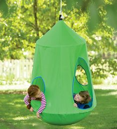 HugglePod™ HangOut Indoor/Outdoor Hanging Chair   Comes With Built In  Lights, So