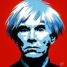 Andy Warhol is probably the most recognized pop artist of our generation. At the height of his fame, he created a series of movie stars portraits including, Elvis Presley, Marilyn Monroe and Elizabeth Taylor. And of course, this one of himself.