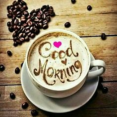 Latest Good morning love images for girlfriend ~ Good morning inages Cute Good Morning Images, Latest Good Morning Images, Good Morning Coffee, Good Morning Flowers, Good Morning Good Night, Good Morning Greetings, Good Morning Wishes, Good Morning Quotes, Latte Art