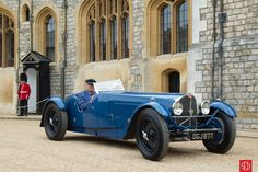 1936 Bugatti Type 57S Corsica Roadster Roadster Number One