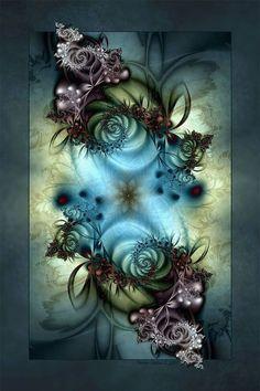 Color Inspired WINTER DELIGHT by ~d-b-cDigital Art / Fractal Art ©2008-2012 ~d-b-c by esperanza