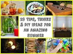 23 Tricks and Ideas For An Amazing Summer Easy Diy Crafts, Fun Crafts, Outdoor Drink Holder, Wine Bottle Torches, Watermelon Keg, Outdoor Projects, Diy Projects, Pallet Swing Beds, Beautiful Home Gardens