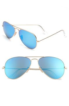 Free shipping and returns on Ray-Ban 'Original Aviator' 58mm Sunglasses at Nordstrom.com. Classic aviators are fashioned with adjustable nose pads and full sun protection.