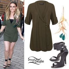 """Perrie Edwards: """"Black Magic"""" Outfit 