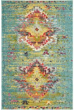 Brio Bridgeport Home Turquoise x Area Rug Bohemian Wallpaper, Bohemian Rug, Turquoise Pattern, Great Albums, Brio, Rugs On Carpet, Carpets, Throw Rugs, Animals For Kids