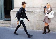 Street Style: Paris Fashion Week Spring 2015 – Vogue