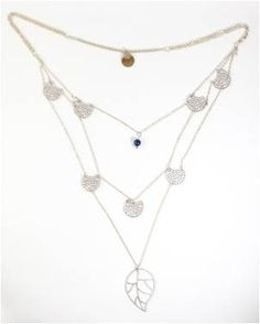 Honey Willow Necklace - Silver - Worthwhile Wear. beautiful, and for a good cause.