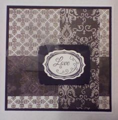 Sbishop B&W Love by sbishop15 - Cards and Paper Crafts at Splitcoaststampers