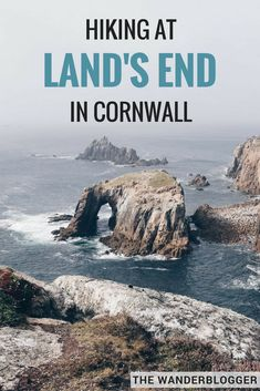 Hiking At Land's End In Western Cornwall