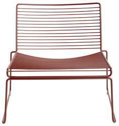 Hee Low armchair Rust by Hay - Design furniture and decoration with Made in Design