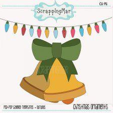 Christmas Ornaments Templates #CUdigitals cudigitals.com cu commercial digital scrap #digiscrap scrapbook graphics