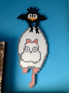Boh and Bird (from Spirited Away) Perler Beads by Angel-Bear