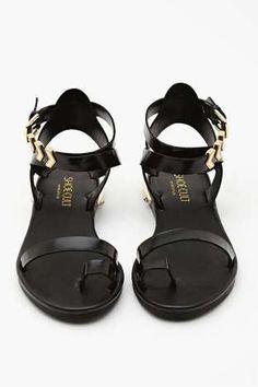 Shoe Cult Zealand Sandal - Black | Shop What's New at Nasty Gal