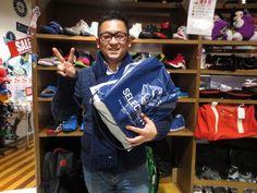 【大阪店】2015.03.17 ペネトレイトからのご紹介でシューズを探して頂きました!!!怪我せず、バスケット楽しんで下さいね♪またペネトレイトでお会いしましょう(≧∇≦)/