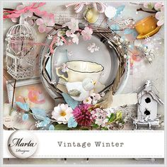 Vintage Winter :: ALL NEW :: Memory Scraps