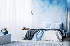 The blue bedroom is so dreamy. If blue is one of your favorite colors, here are some beautiful blue bedroom ideas to help you furnish your space.