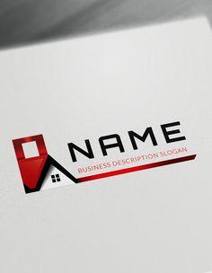 88 best top real estate logo designs collection images on pinterest house logos real estate logo maker free logo design templates friedricerecipe Gallery