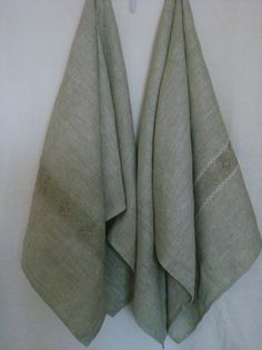 Linen towel Bath towel natural linen spa towel by LinenWoolRainbow