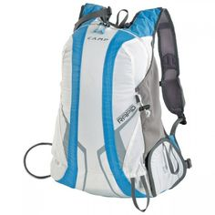 Camp Campack Rapid White Blue 2017 at Ekosport Light Blue, White Light, Sling Backpack, Skiing, Camping, Backpacks, Stuff To Buy, Bags, Outdoor