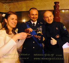 WEDDING DAY , MARKO E FRANCESCA FORZE MILITARI ITALIANE AEREONAUTICA MILITARE ITALIANA SERVICE MR UDY ITALIA