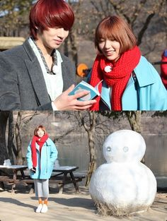 """First Stills of Heechul and Puff Kuo on """"We Got Married Global Edition"""""""