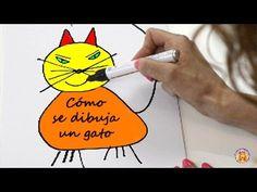 Cómo se dibuja un gato - Gloria Fuertes - Poemas infantiles