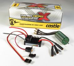 Castle Creations Mamba Micro X Packs Big Power in Small Package