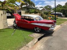 Learn All About Vehicle Repair In This Article. Are you worried about making decisions involving your auto repair and maintenance? 57 Chevy Bel Air, Abandoned Cars, Us Cars, Cars And Motorcycles, Muscle Cars, Vintage Cars, Classic Cars, Vehicles, Cars