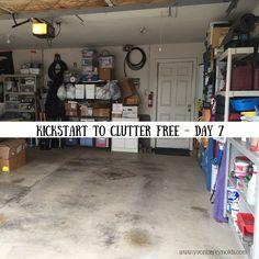 Halfway through Kathi Lipp's Kickstart to Clutter Free eCourse!