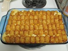 Tator Tot Casserole... inspired by the Duggar family... kid tested... hubby approved!  :)
