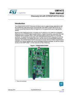 """Cover of """"Stm32f4 kit"""""""