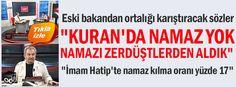 """Namık Kemal Zeybek: """"Kuran'da namaz yok namazı zerdüştlerden aldık"""""""