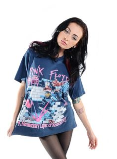 """PINK FLOYD TOUR T-SHIRT - 1987 Pink Floyd """"A Momentary Lapse of Reason"""" Tour T-Shirt, cotton and poly blend. This shirt is totally amazing and in perfect condition!   Medium - 95.00 dollars"""