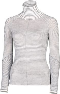 "SKYE | 25"" Striped Turtleneck 