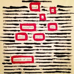 Escape: Make Black Out Poetry, Black Out Poetry