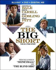 This adaptation of Michael Lewis' nonfiction book THE BIG SHORT explores the…