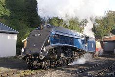 LNER class A4 4-6-2 pacific steam locomotive 60007