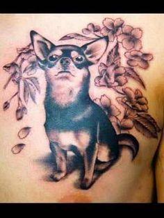 #chihuahua tattoo