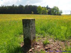 Alte Landesgrenze zwischen #Baden und #Württemberg > zwischen Hardt (Landkreis Rottweil) und Weiler, Gemeinde #Königsfeld (#Schwarzwald-Baar-Kreis) >> Grenzstein, Lachstein, Hoher Markstein >>>