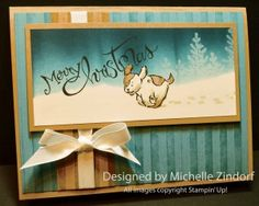 Hurry It's Christmas – Stampin' Up! Card created by Michelle Zindorf