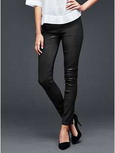 gap 1969 leather pull-on legging jean - Google Search