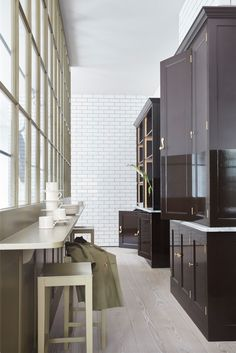Plain English Marylebone Showroom | 'The Spitalfields Kitchen' by Plain English | www.plainenglishdesign.co.uk