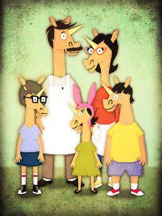 "Unicorn of the Day ""Unicorn Burger Family"" | That's So Unicorny"