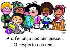 Respeite as diferenças de cada um