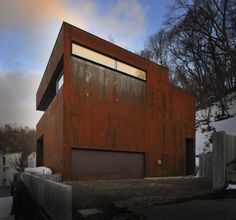 This home was created by Nakayma Architects in Sapporo, Japan.