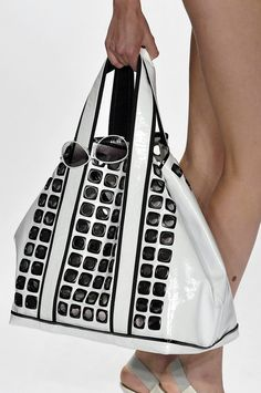White and Black Bag