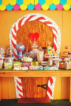 Gingerbread House Dessert Table