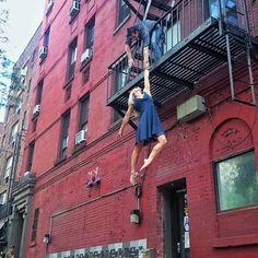 Jessie Graff-Ninja Warrior and stuntwoman. She's epic.